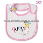 100%Cotton Embroidered Baby Bib