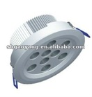 CE and ROHS and UL approved 12x1W LED ceiling light