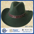 100% wool felt cowboy hats