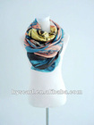 cashmere and silk printed scarf