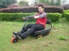The new slide bike on lawn