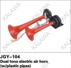 One pair JGY-104, 12V,24V,JGK-502VALVE, w/plastic pipes ,Dual tone electric air horn