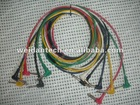 "professional assembled cable with 6 PCS * 1/4"" Mono JACK R/A"