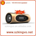 VO-610 mp3 speaker with fm wholesale music boxes