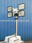 Roof-mounted light tower/telescoping light mast/vehicle mounted light tower