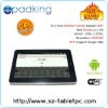 10.2 Inch GPS Google Map Wifi Tablet pc