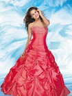 2010 new style wholesale red prom dress