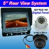 5'' Reversing System with IP68 Waterproof 420 TVL CCD IR Dome Camera