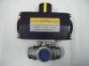 3 way pneumatic ball valve