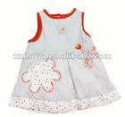 Summer cotton new baby dress