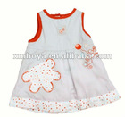 Summer cotton new baby dress