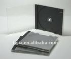 10.4mm ps single cd jewel case(70grams) with black tray