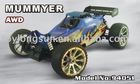 1:5 nitro off road rc car