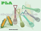 B33-0041 Pla Spoon Biodegradable