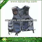 100% polyester mesh breathable quick-drying military vest, tactical vest with velcro