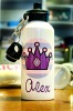 Personalized Aluminum Water Bottle Princess Crown Design, Sports Bottle