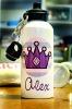 Personalized Aluminum Water Bottle Princess Crown Design, Sports Bottle