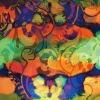 digital printed scarves silk