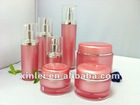 clear round Acrylic Jar 100g night cream jar in cosmetic factory