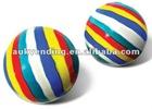 Color Stripe Bouncy Balls