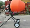 10Cu.Ft Manual Cement Mixer with Rotating Poly Drum