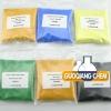 Inorganic pigment powder, Plastic pigment