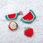 Crochet Coin Purse-watermelon