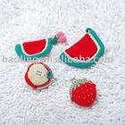 Crochet Coin Purse-watermelon