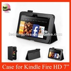 New arrival rotate leahter case for Kindle fire HD 7''