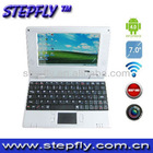 "Stepfly SF-737D 1GB ROM 160HDD camera WIFI 13.3"" cheap china Laptop"