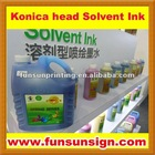 Solvent ink for Konica head / Konica 42pl, 14pl head ink