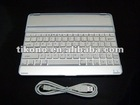 Ultrathin Mobile Bluetooth Wireless Keyboard Dock Front Case for Apple iPad 2