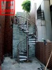 Stainless Steel Outdoor Spiral Stair ST-008