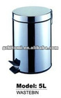 stainless steel wastebin for household