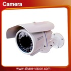 "Flexible 600TVL 1/3"" sony camera weatherproof security system"