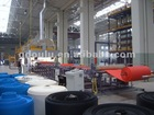 XPE chemical cross-linking foam sheet production line