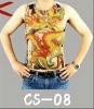 Novelty Tattoo T-shirt Wholesale promotion price mix designs