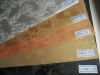 PVC wood grain decorative sheet(Mono color with embossed texture 35series)