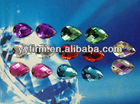 Wholesale fashion loose jewelry acrylic rhinestones!Discount price jewelry water drop acrylic rhinestones!