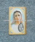 Our Lady of Medugorje Queen of Peace -- Holy Card Item:PC05
