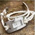 fashion polyester rope bracelet watch