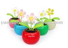 Flip Flapper solar dancing flower/car flower/solar flower/sunflower