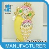 High Quality Colorful Owl Brooches Alloy Crystal hot sale cheap brooches