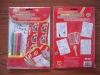coloring & sticker set with colour pen