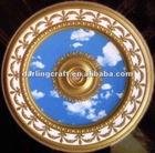 Round! 120cm PS artistic ceiling tile