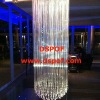 RGB color end glow PMMA optic fiber chandelier lighting