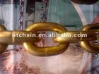 EN818-2 Grade 70 zinc planted iron chain