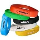 1GB-32GB Wrist Band USB Memory Drive Free Logo