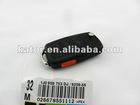 car key shell for VW car 3+1 button