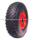 natural pneumatic rubber wheel pr1005